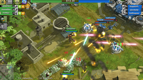 Airmech update adds parts system to allow for greater customization