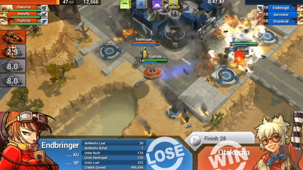Free to play robo-smasher AirMech is coming to Steam
