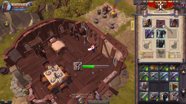 Albion Online gameplay video is labour-intensive, demonstrates worker  system. albion_online_labourers