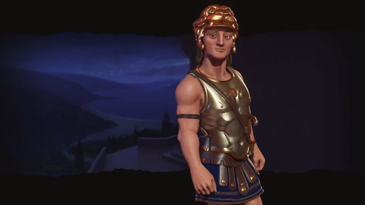 The next Civilization 6 leader will be Alexander the Great of Macedonia