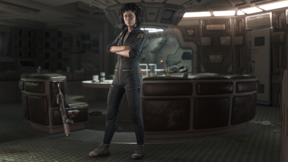 Alien: Isolation stars Amanda Ripley, daughter of Ellen.