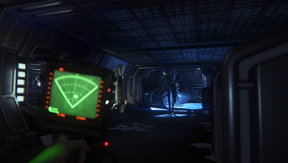 This is not a common sight in Alien: Isolation.