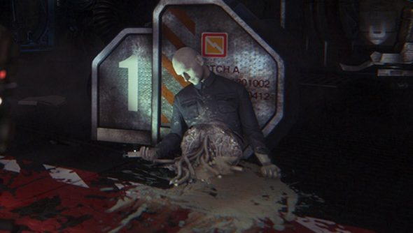 You are not the only person to be routinely disemboweled in Alien: Isolation.