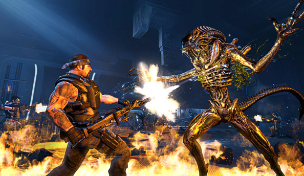 Aliens: Colonial Marines has terrible AI because of one typo, which you can fix