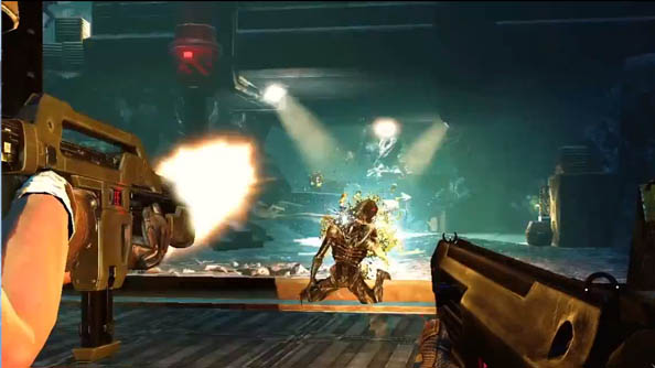 Aliens: Colonial Marines multiplayer mode Escape looks Left 4 Dead-ish