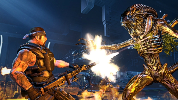 Aliens: Colonial Marines to support DirectX11 and Steamworks
