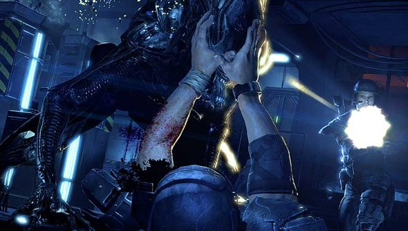 Aliens: Colonial Marines: a nasty surprise.