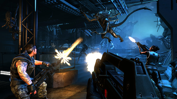 Aliens: Colonial Marines' multiplayer is basically Left 4 Dead with xenomorphs