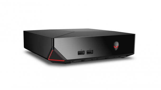 Alienware 39 s steam machine has morphed into a windows based for Windows 8 living room pc