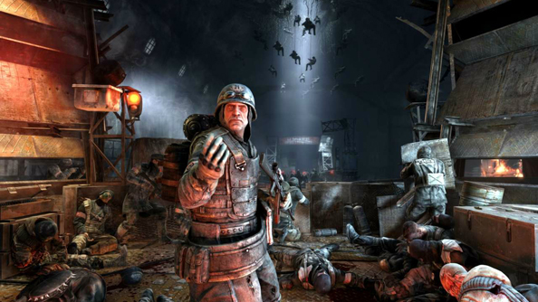 Metro: Last Light will run comfortably on 'high' on the Alienware Alpha.