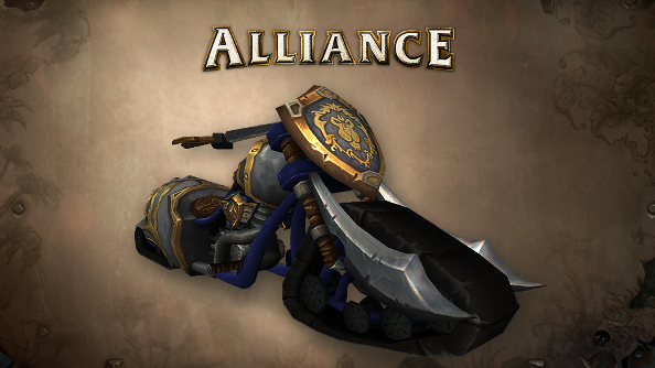 World of Warcraft's Alliance is getting a chopper after all