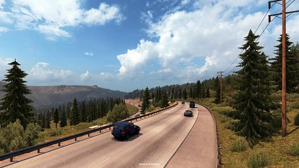 American Truck Simulator's big rescale is complete, adding