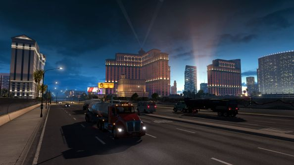 American Truck Simulator demo gives one state and limited