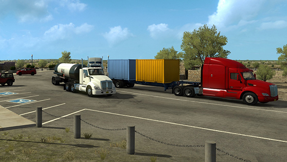 american truck simulator new mexico dlc trailer