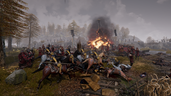 Ancestors Legacy RTS gory
