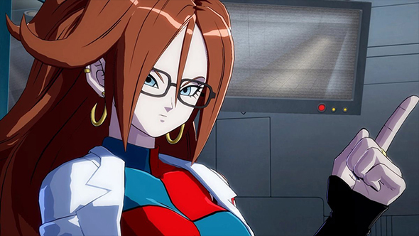 dragon ball fighterz story trailer android 21