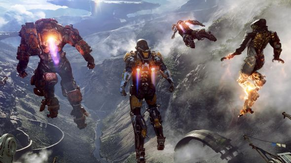 Anthem gameplay