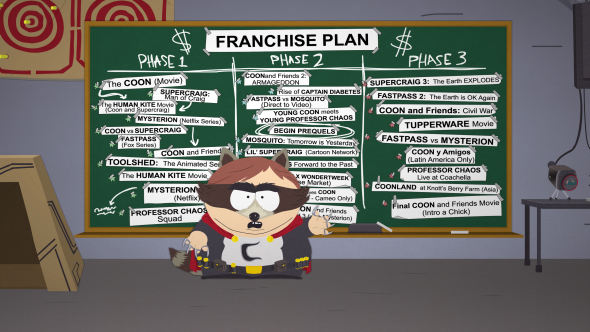 Anticipated games South Park: The Fractured But Whole
