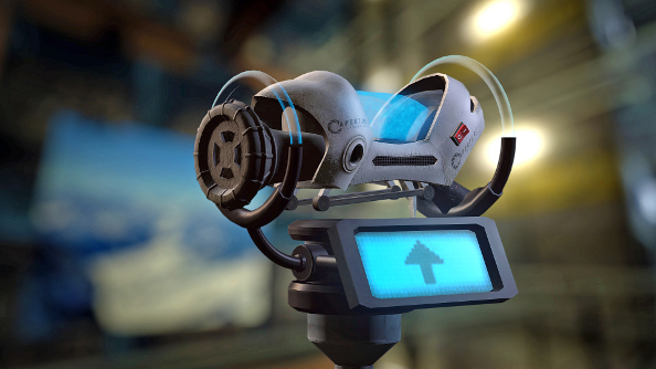 Paint the town orange and blue in Aperture Tag, a Valve-approved Portal 2 mod