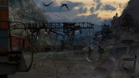 Areal concept art gleaned from its Kickstarter page.