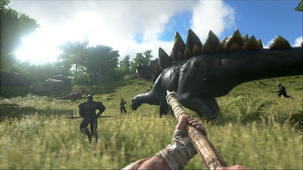 "Ark: Survival Evolved will get its first expansion ""a few months after release"""