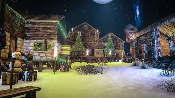ARK: Survival Evolved Ushers In Christmas Construction, A $10k Charity  Battle, Santa Claws