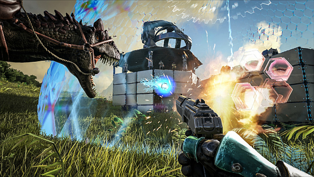 Ark Survival Evolved Launches Today With A Proper Story And A Final Boss Pcgamesn No leeds, no alphas, very few bigger fishes. ark survival evolved launches today