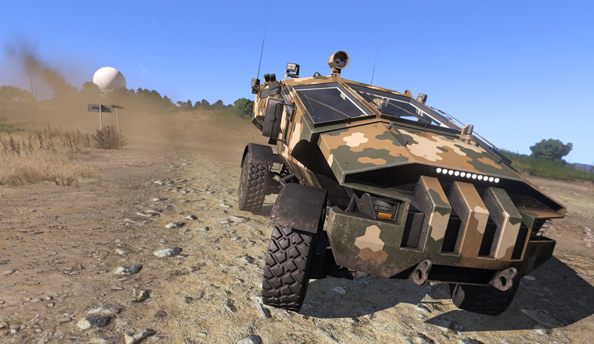 Arma 3 update strips helicopter crew of their precious hand grenades; also, many fixes