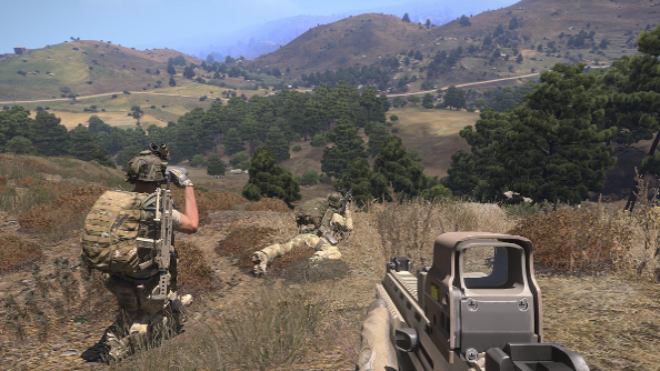 Take a free weekend break in Arma 3