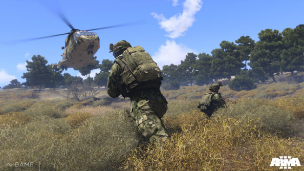 Arma 3 lets you create infinite military scenarios with its 3D Eden Editor