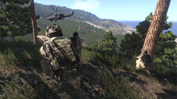 Arma 3 hands-on: I swam into the sea and met a turtle