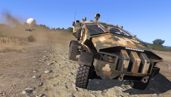 Arma 3 update strips helicopter crew of their precious hand