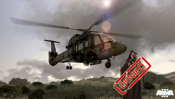 Arma 3 patch removes magic helicopters  Sorcerers reportedly