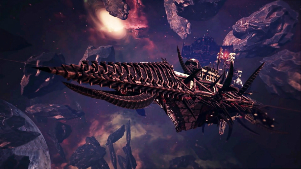 Battlefleet Gothic: Armada sails onto Steam in a spaceship covered in skulls