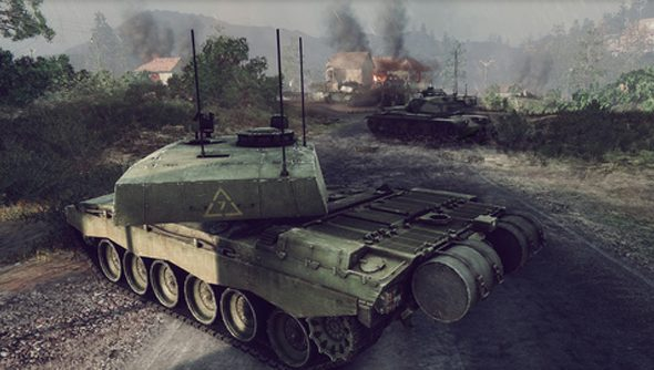 Armored Warfare runs on CryEngine, and is rather pretty for it.