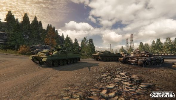 Armored Warfare: play a class you never have before.