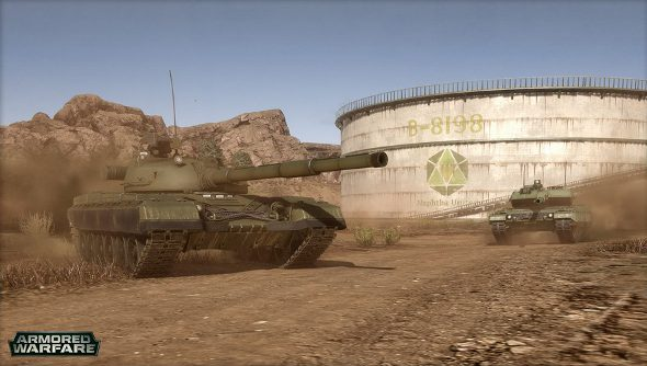 Armored Warfare trailer