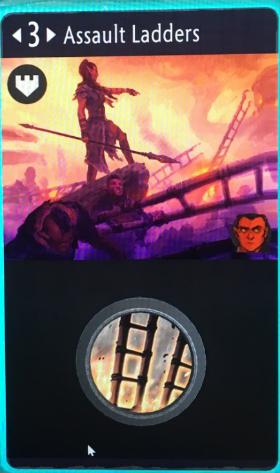 artifact cards assault ladders