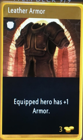 artifact cards leather armor