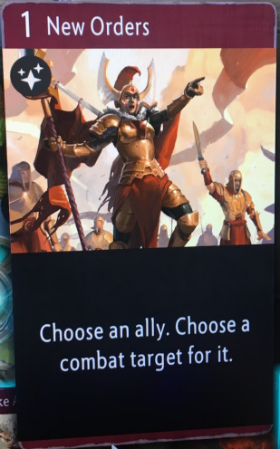 artifact cards new orders