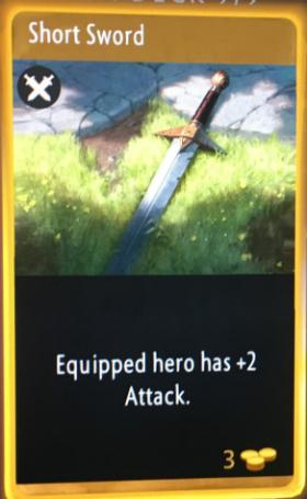 artifact cards short sword