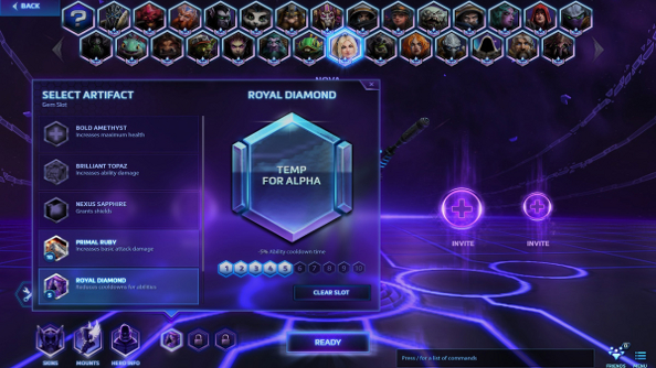 Slot up: Blizzard unveils Heroes of the Storm's artifacts system