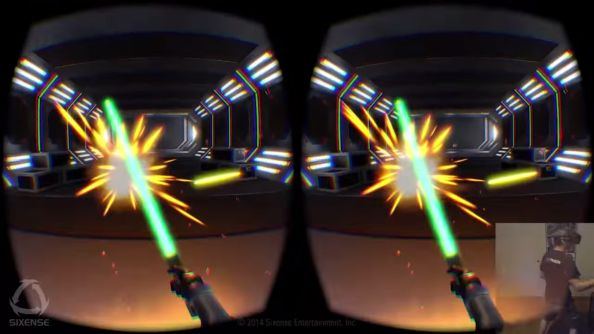 Begin your Jedi training with the Sixense STEM System and Oculus Rift DK2