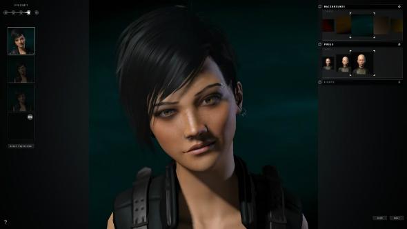 EVE Online character creator