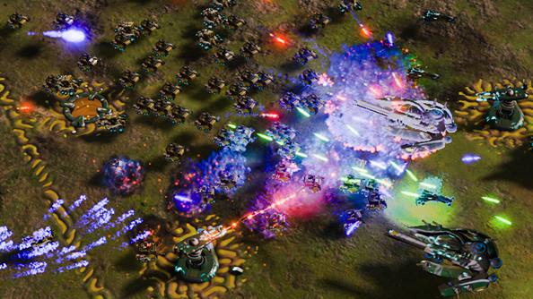 Ashes of the Singularity spiced up with new single player scenarios in Turtle Wars DLC