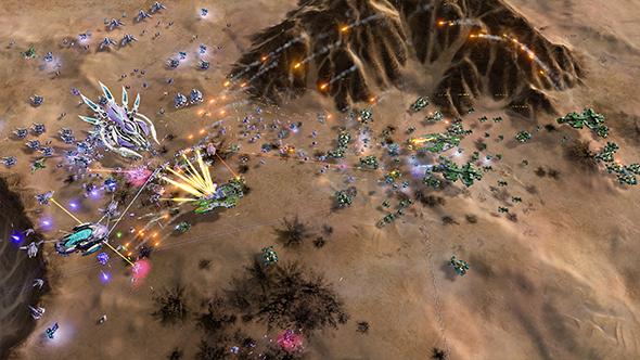 ashes of the singularity escalation 2.5 update juggernaut dlc
