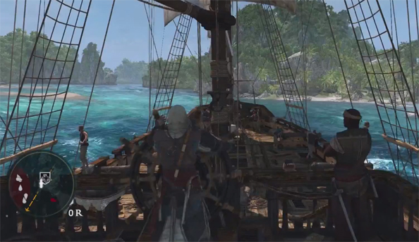 "Assassin's Creed 4: Black Flag trailer talks up your ship: the ""second main character of the game"""