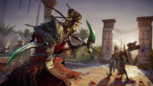 Assassin's Creed Origins: The Curse of the Pharaohs pc review header