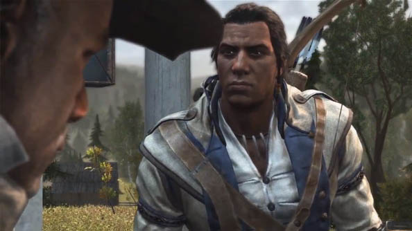 Assassin's Creed 3 trailer shows Connor is not much fun at all; pretty good with an axe though