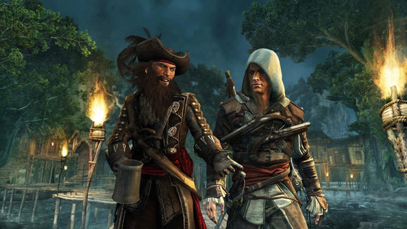 Assassin's Creed 4 open-world trailer sees Kenway navigate contracts and crabs